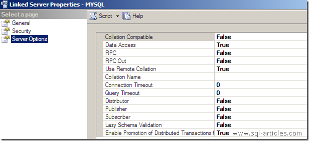 how to create mysql server
